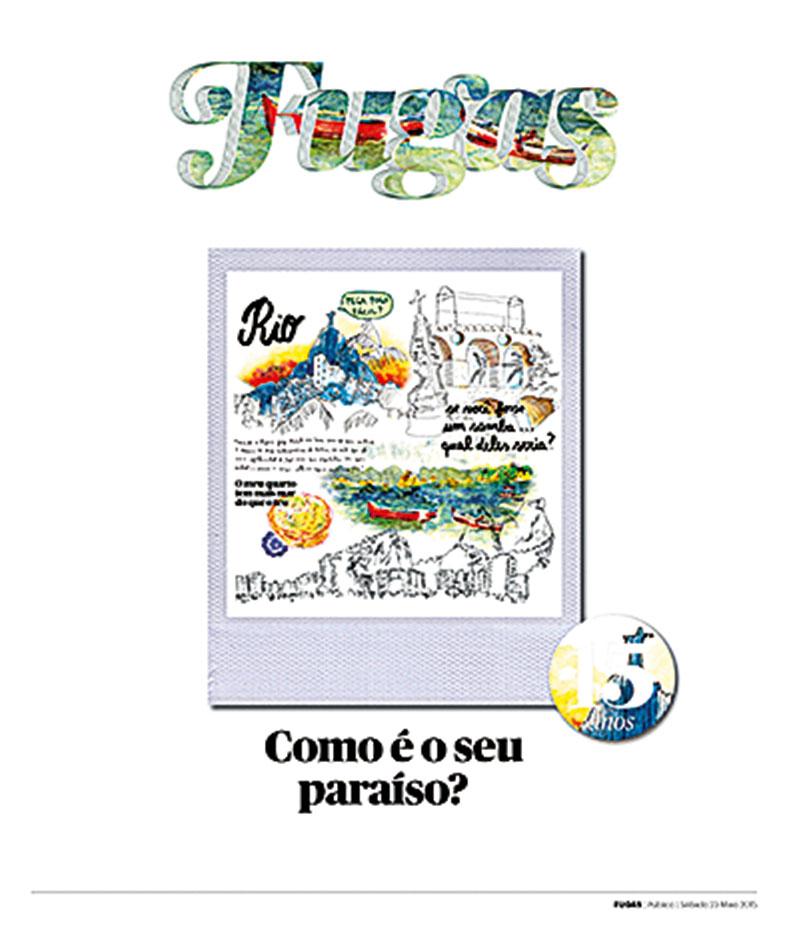 Capa de Ana Gil, Corroios