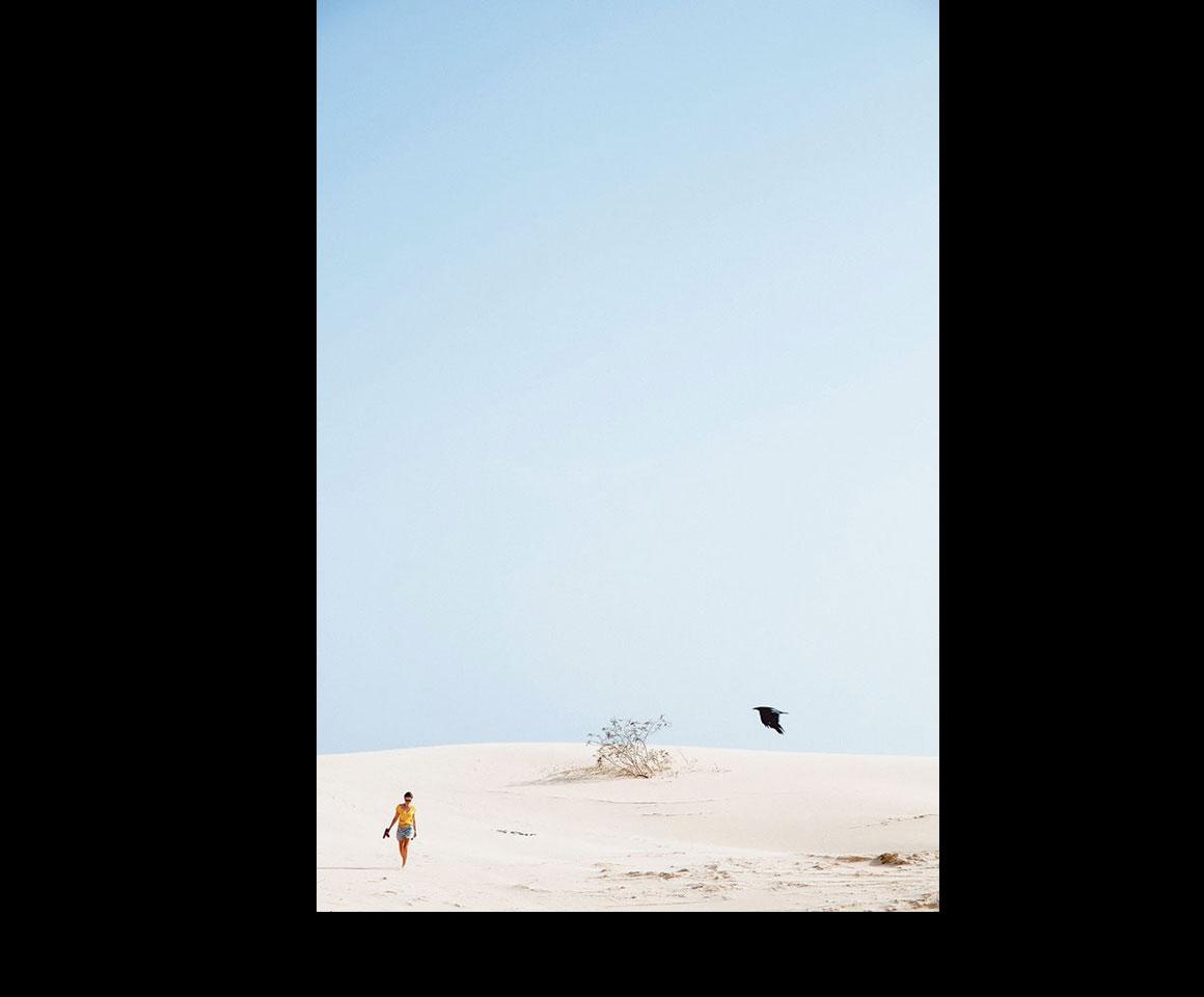 No Deserto de Viana