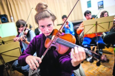 Ensaio da Orquestra de Cordas do Conservatório de Música de Sintra