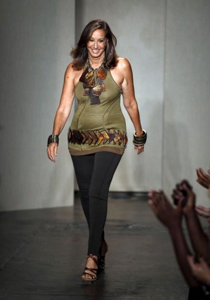 Donna Karan abandona cargo de directora criativa da marca homónima