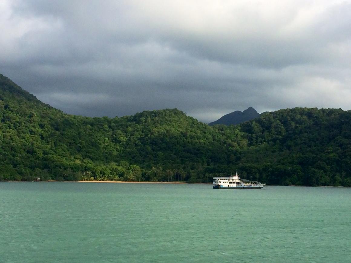 Na ilha Koh Chang