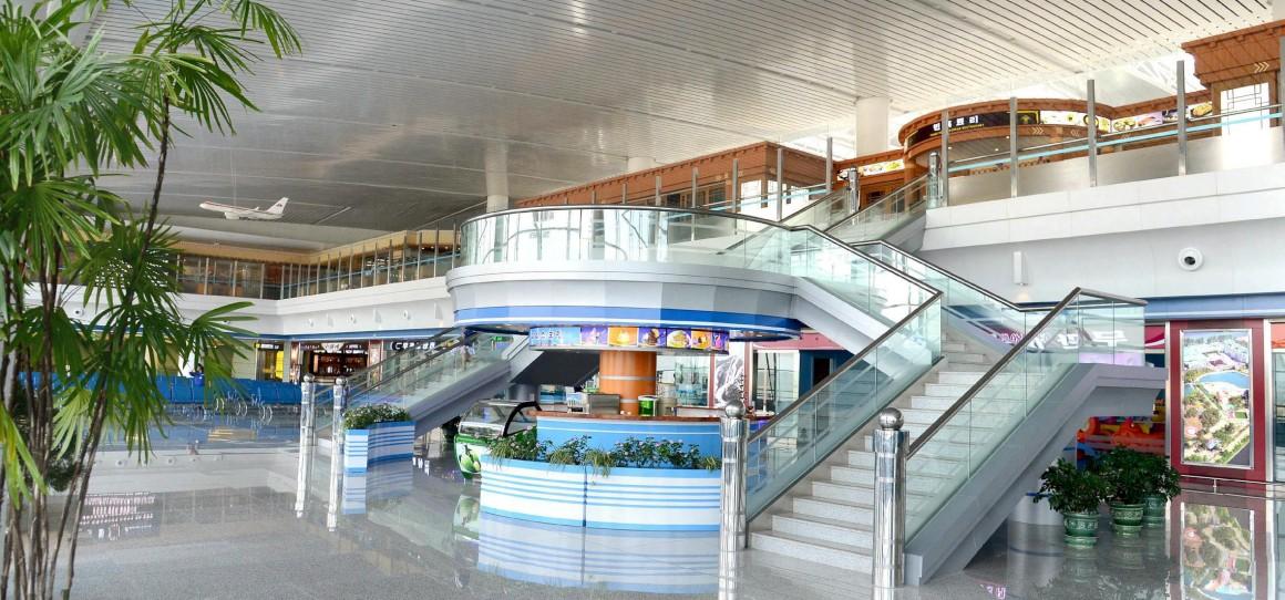 No novo terminal