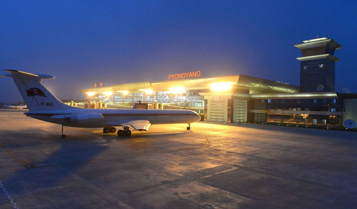 O novo terminal visto de fora em