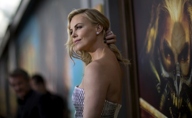 A actriz Charlize Theron