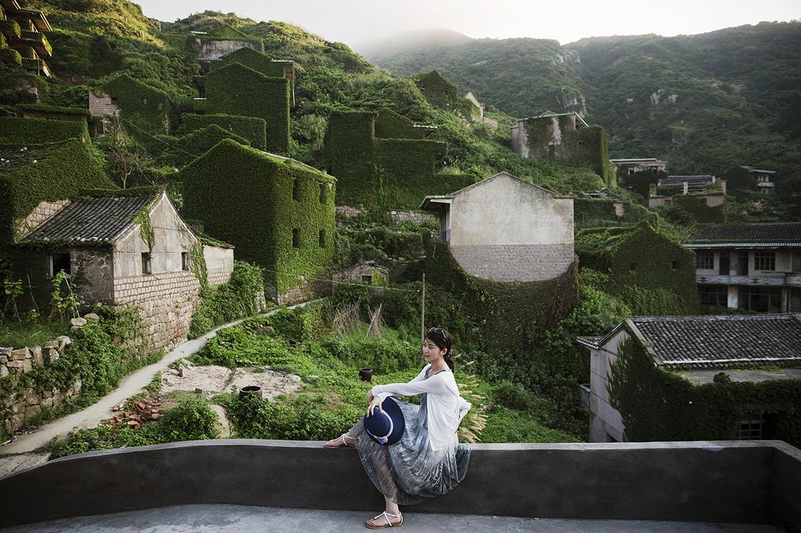 Houtouwan é uma vila localizada em Shengshan, uma das 400 ilhas do arquipélago chinês de Shengsi