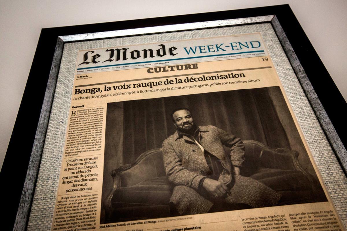 Destaque no Le Monde: a aclamação internacional veio sobretudo de França