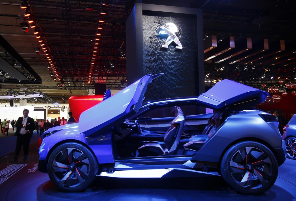 Peugeot Quartz, um concept