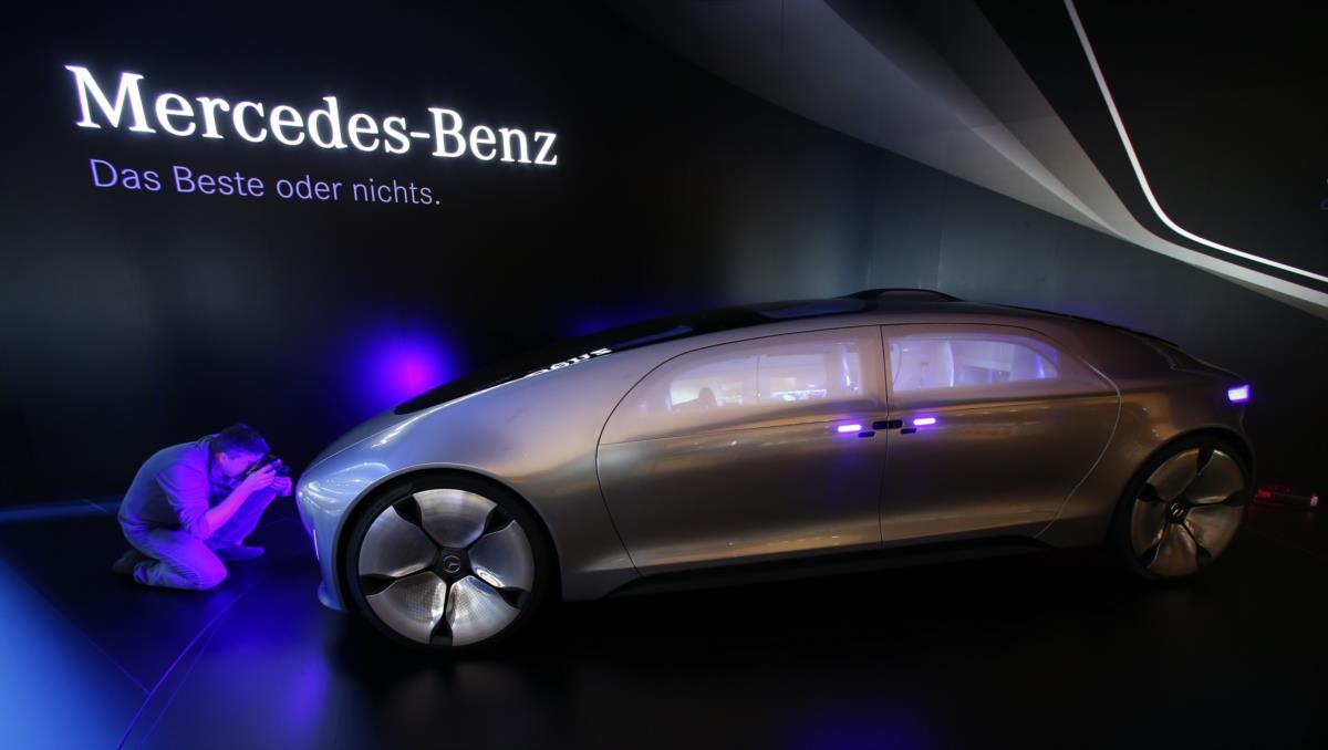 Um carro para o futuro: Mercedes-Benz F 015