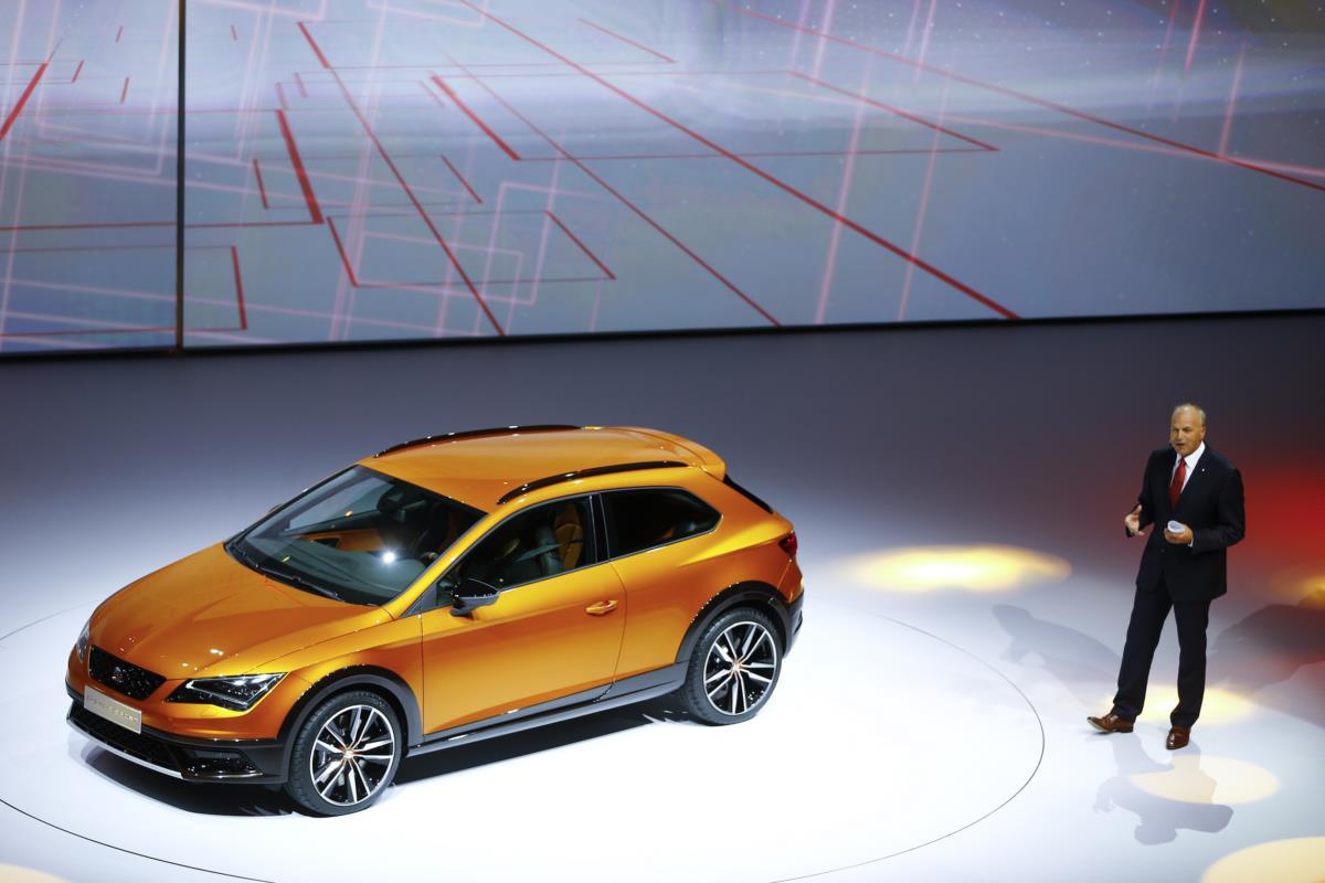 A Seat apresentou a versão Cross Sport do Leon