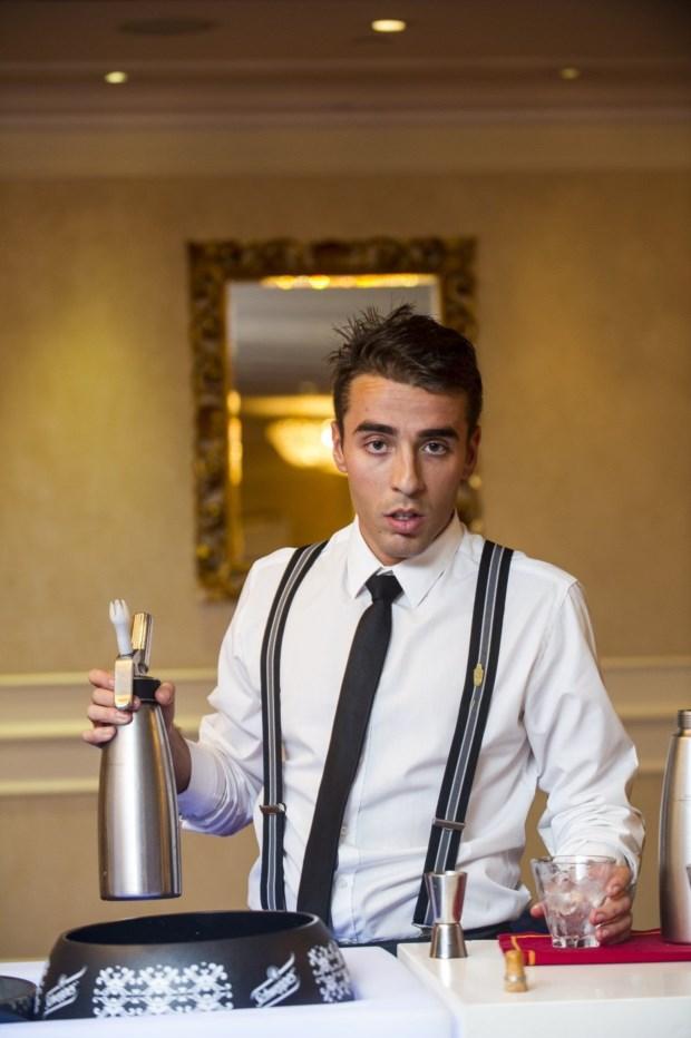 Wilson Pires, vencedor do Barman do Ano no ano passado