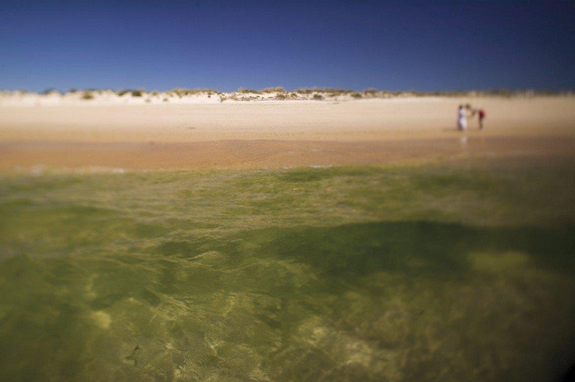 Melhor destino de praia:Algarve