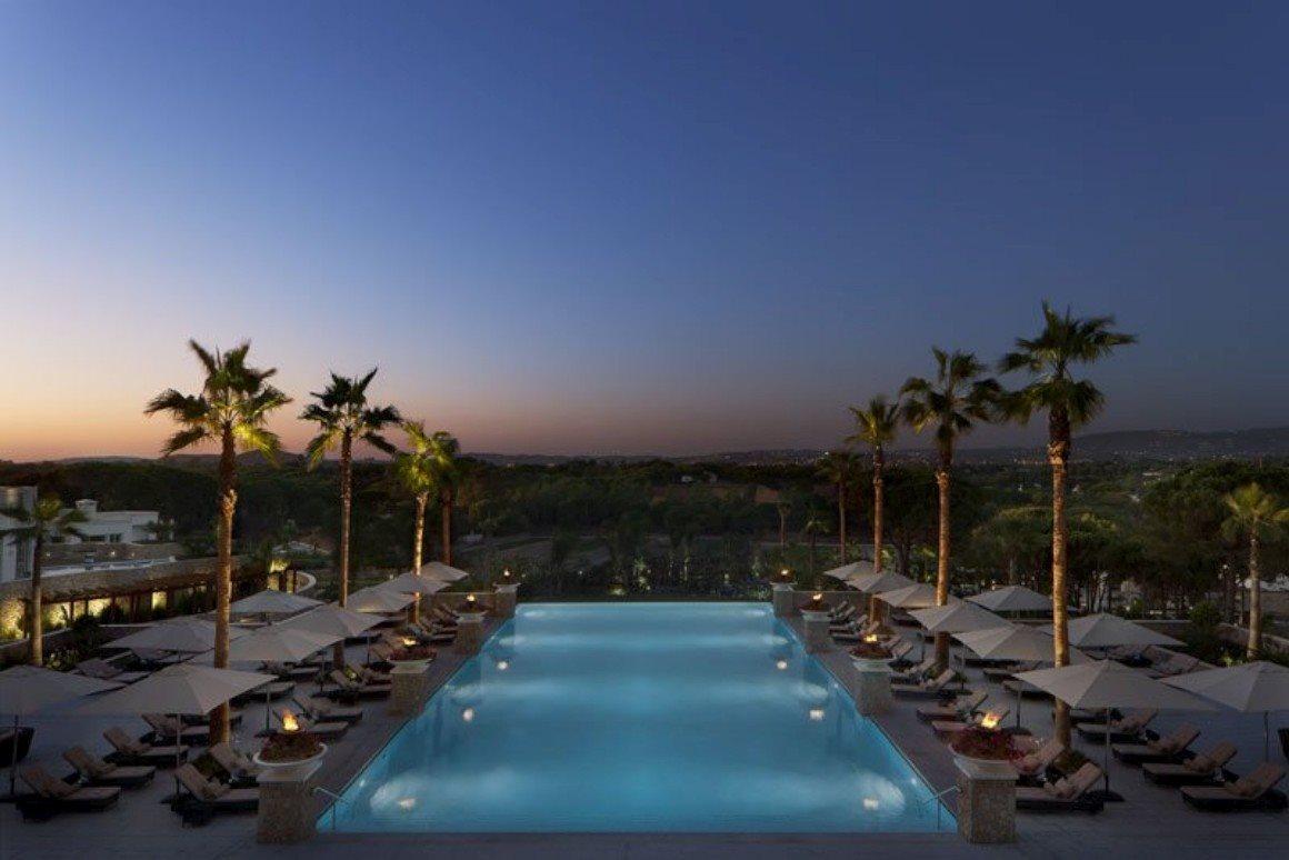 Melhor resort; melhor resort de luxo e melhor resort de lazer de luxo: Conrad Algarve