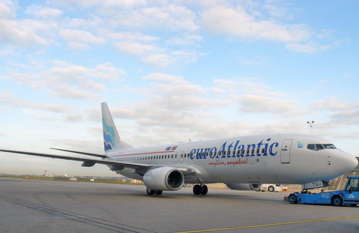 Melhor companhia de vooscharter:euroAtlantic Airways
