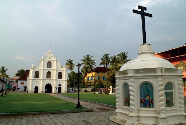 Igreja de Nossa Senhora da Esperança, na ilha de Vypin.