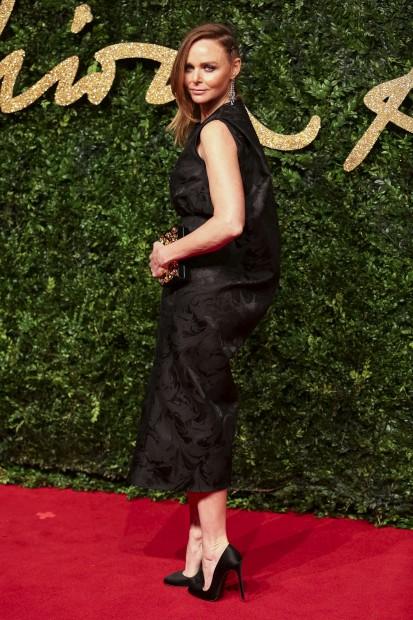 A designer britânica Stella McCartney recebeu o prémio de marca do ano