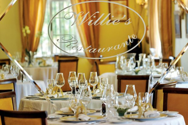 Uma estrela Michelin: Willies (Vilamoura), de Willie Wurger