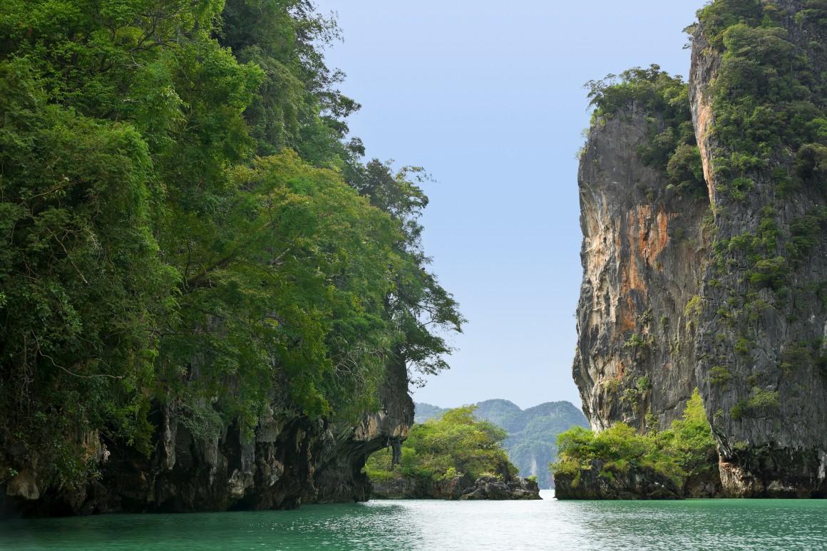 TAILÂNDIA. Parque Marinho Nacional de Ao Phang-Nga