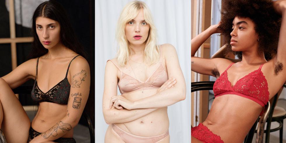 & Other Stories escolhe modelos com cicatrizes e tatuagens para campanha de lingerie