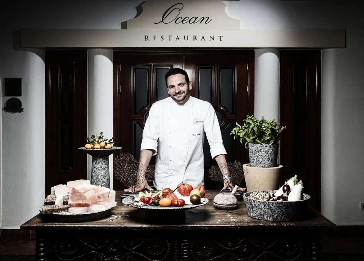 Hans Neuner chefia o restaurante português com melhor cotação, o Ocean, no Algarve