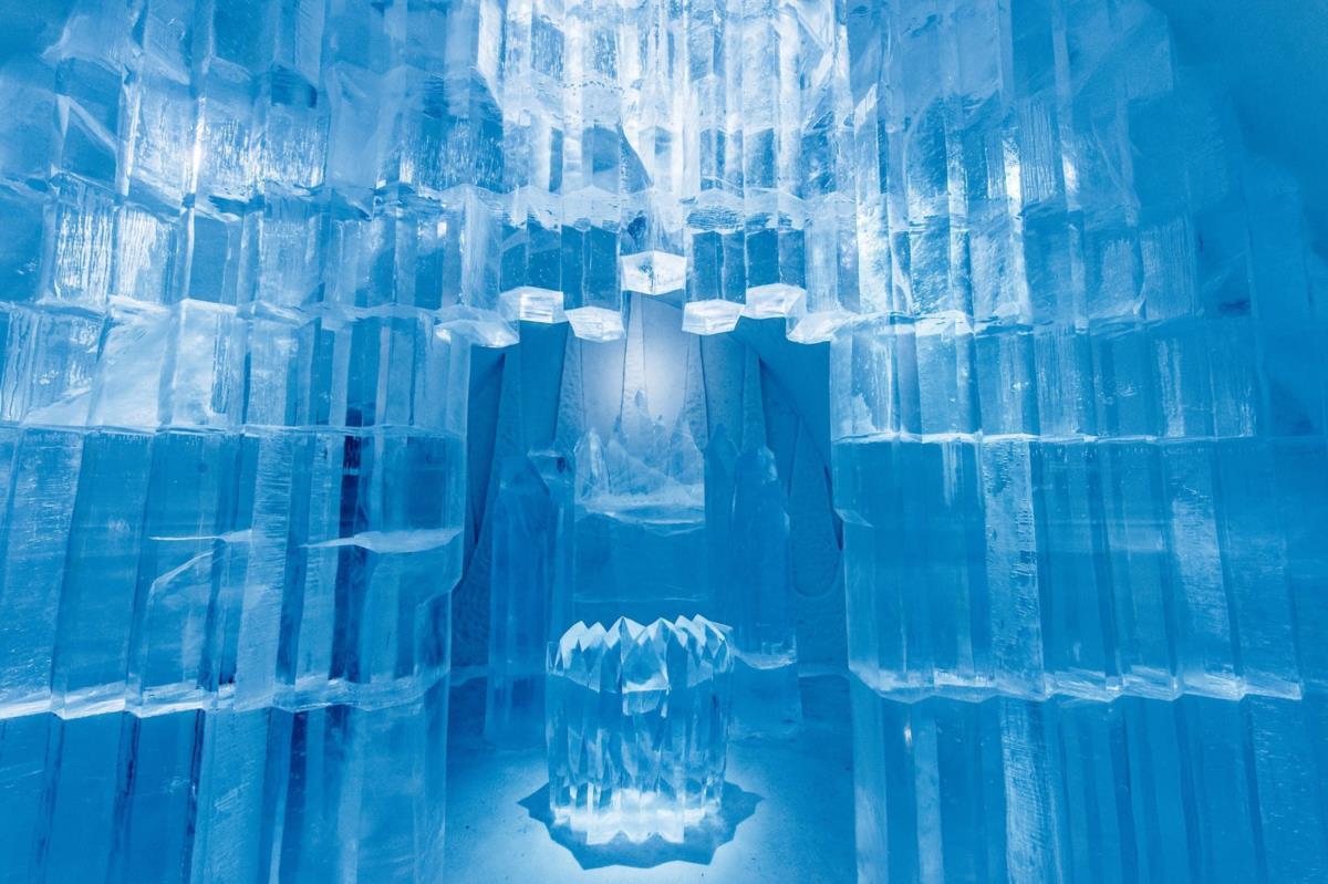 Deluxe Suite: Rythm of the Arctic.  Design: Shingo Saito & Natsuki Saito, Japão. Photo: Asaf Kliger