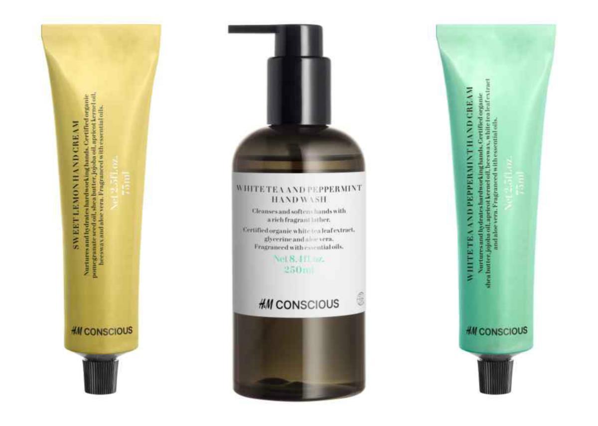 H&M lança linha de beleza orgânica
