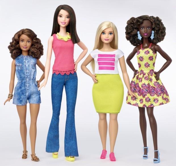 Alta, baixa, gorda... assim é a nova Barbie