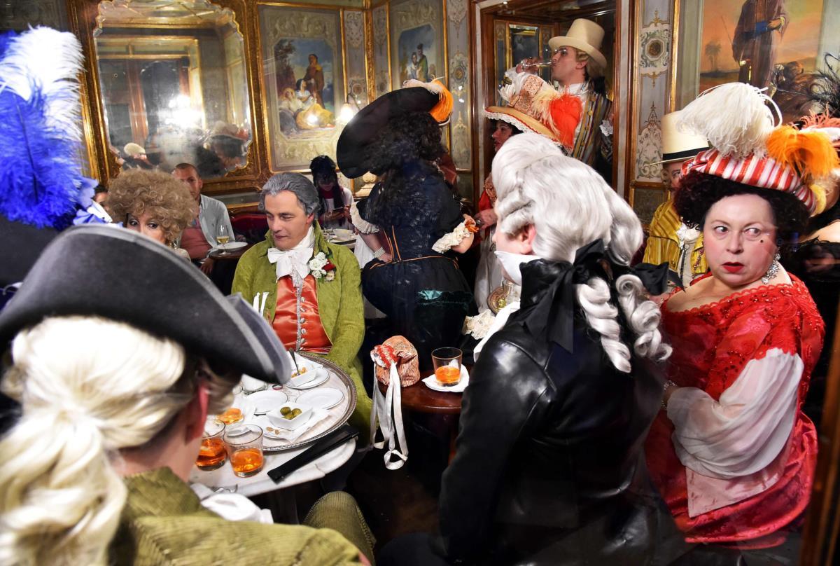 As máscaras já enchem Veneza