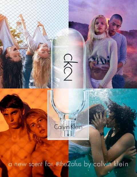 CK2: um perfume sem género para os millennials