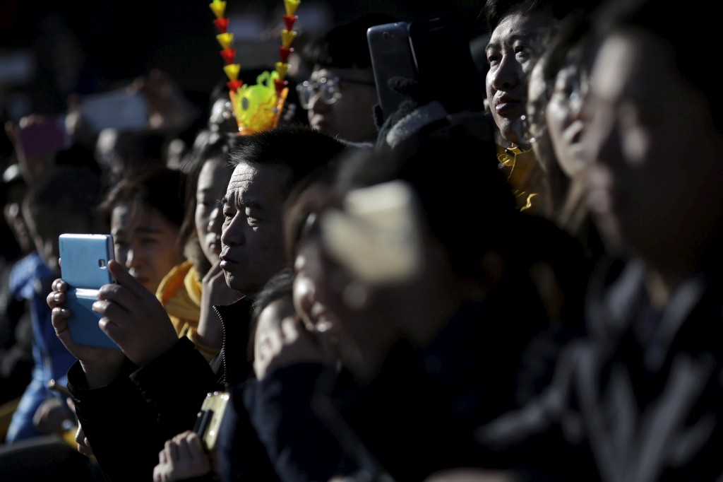 Comemorações do Ano Novo Chinês em Pequim, China