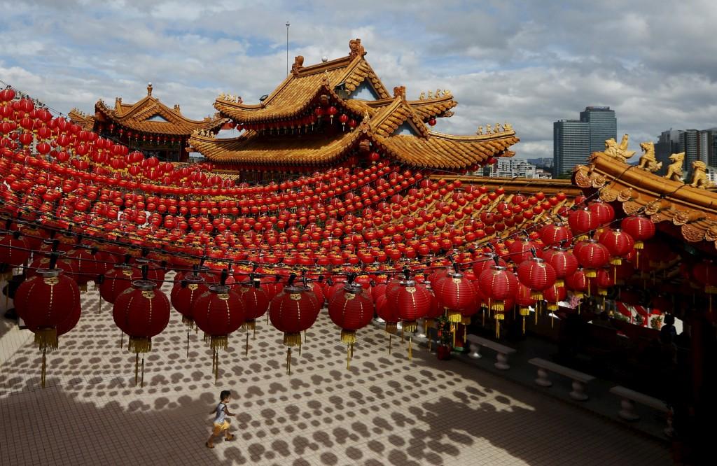 Comemorações do Ano Novo Chinês em Kuala Lumpur, Malásia