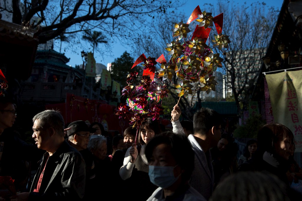 Comemorações do Ano Novo Chinês, Hong Kong