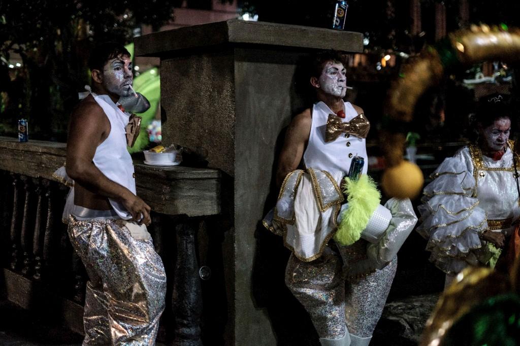 São Clemente prepara o desfile no Carnaval,  Rio de Janeiro