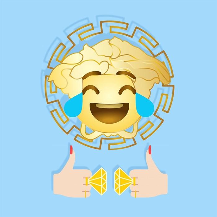 Versace lança aplicação de emojis