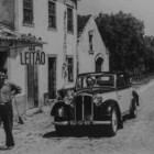 Foto histórica na parede do restaurante, que já existe há 70 anos