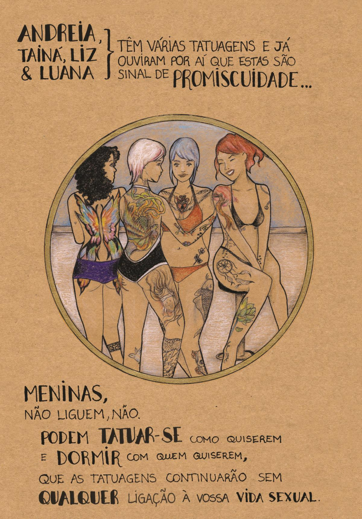 As meninas tatuadas