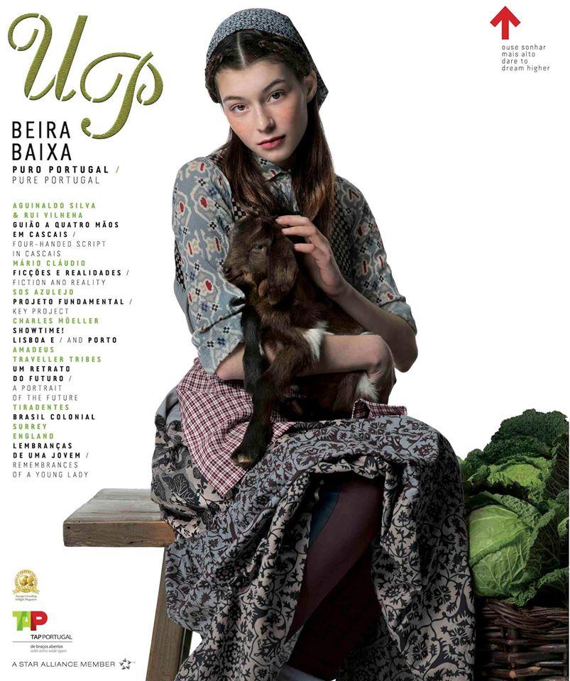 Revista Up (TAP): candidata a melhor revista de bordo