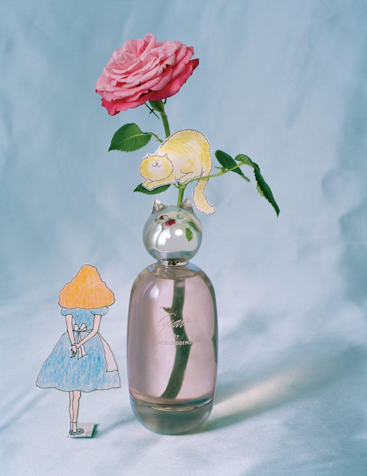 Fragrância de Grace Coddington tem rosas e gatos
