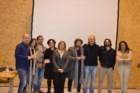A fotografia de grupo dos vencedores com a directora da FIL, Fatima Vila Maior