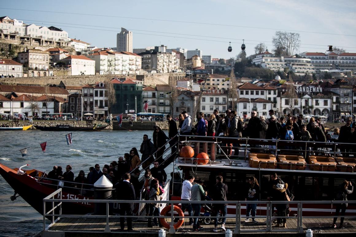 Porto das visitas