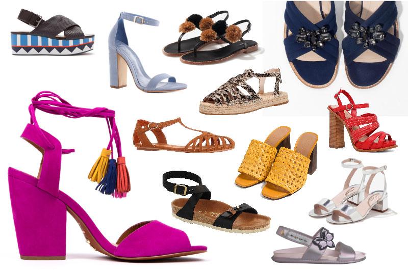 Chegou o tempo das sandálias