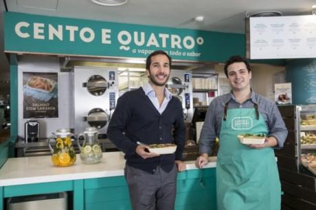 Nuno Gi e Francisco Magalhães, dois dos responsáveis pela empresa
