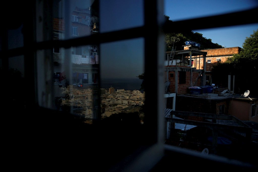 Tiki hostel na favela Cantagalo