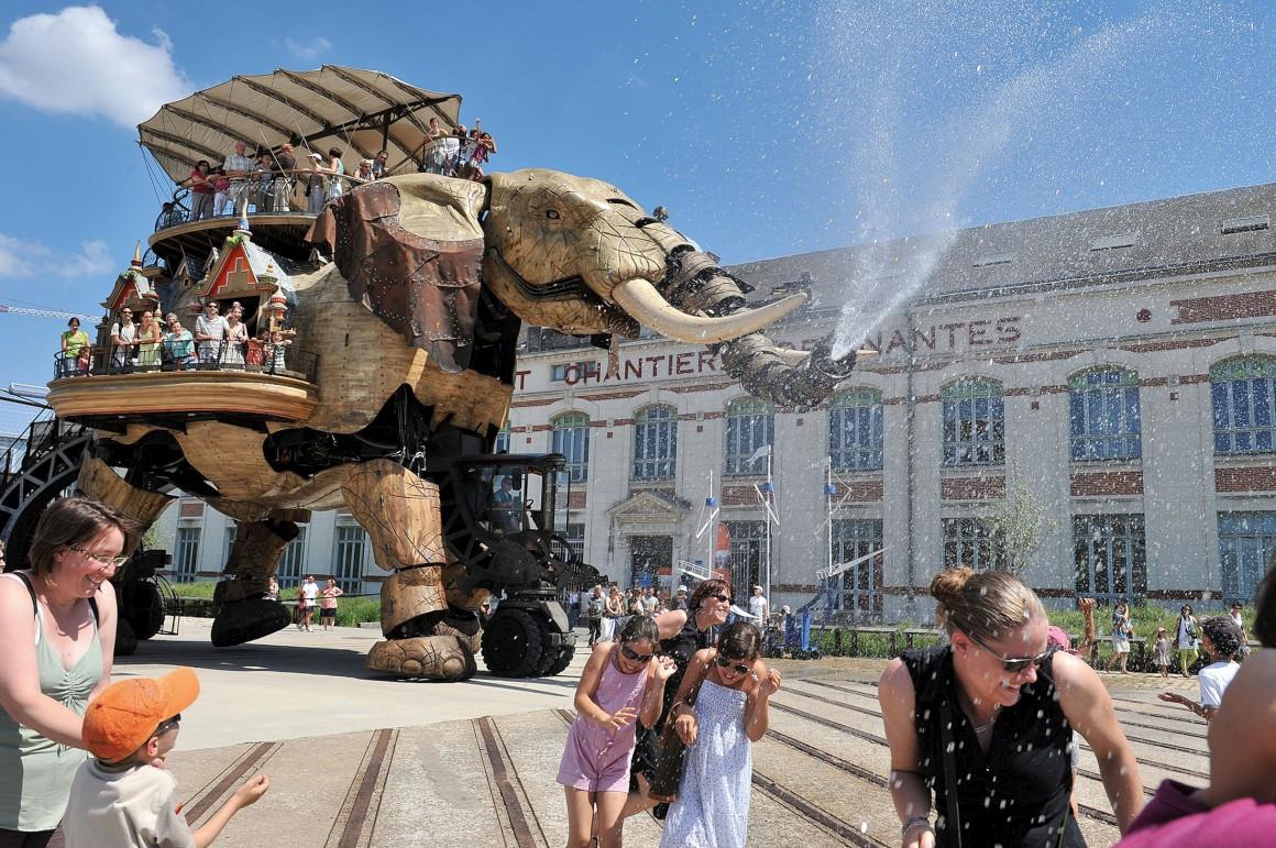 Le Grand Eléphant - Les Machines de l'île