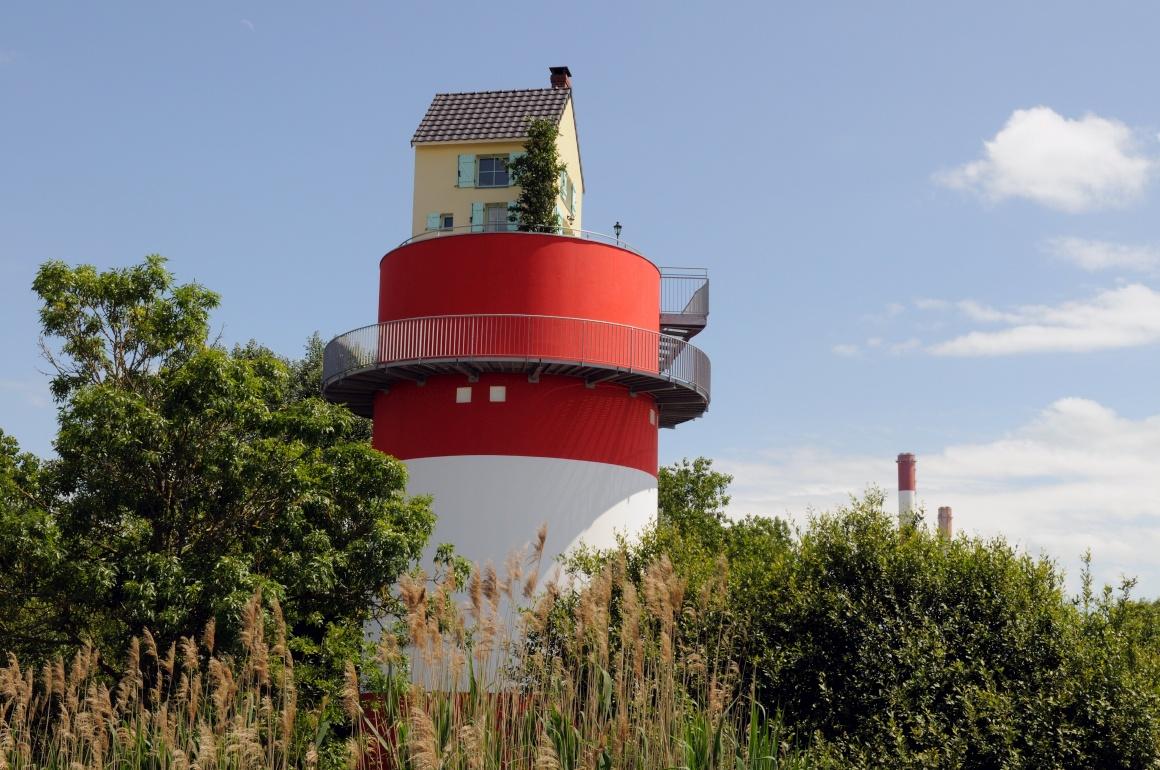 Tatzu Nishi, Villa Cheminée, Cordemais - Estuaire 2009