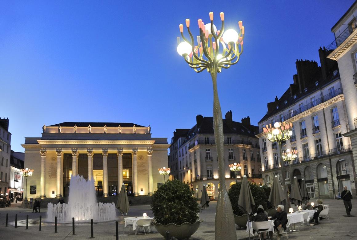 Place Graslin. Nantes
