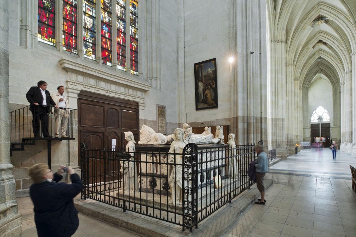 Michel Colombe, Tombeau de François II et Marguerite de Foix, Cathédrale Saint-Pierre et Saint-Paul, Nantes
