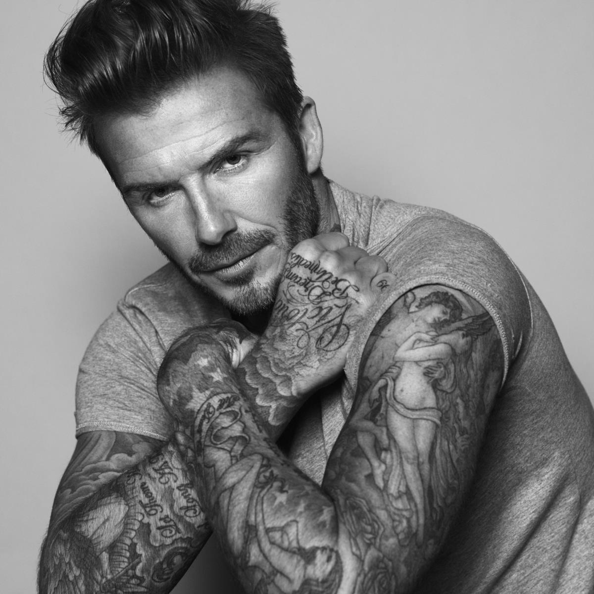 David Beckham desenvolve linha de produtos de beleza masculinos