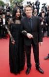O norte-americano Willem Dafoe e a mulher Giada Colagrande