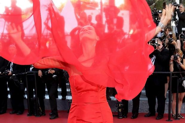 Cannes terminou com uma colorida passadeira vermelha