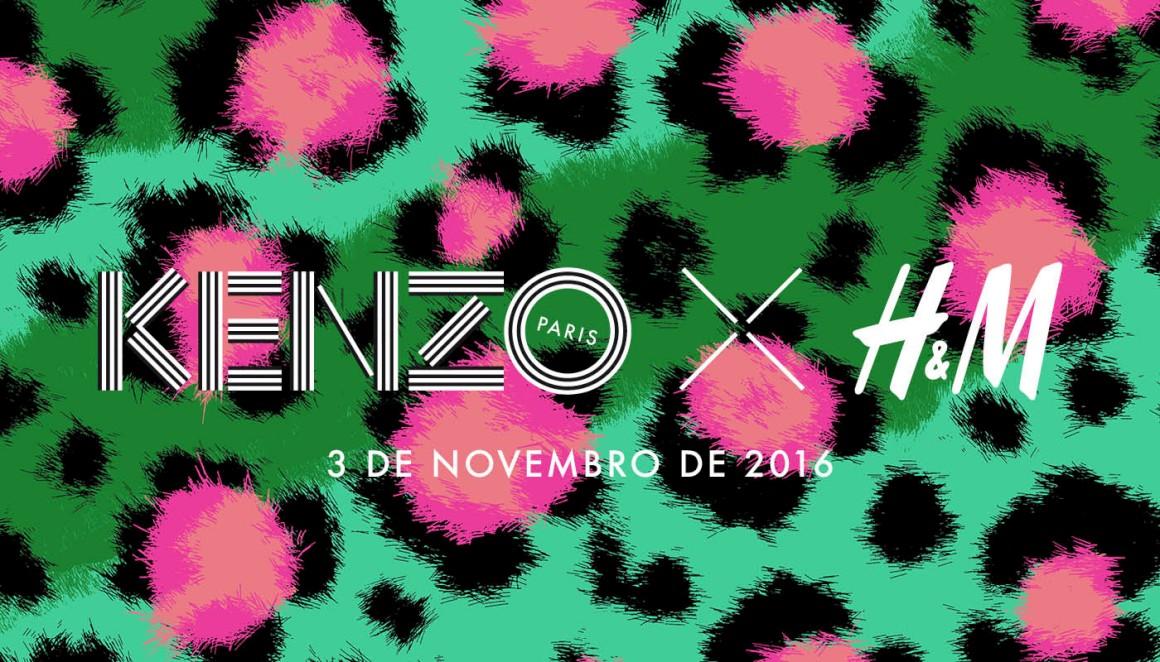H&M será vestida com estampados de tigre da Kenzo